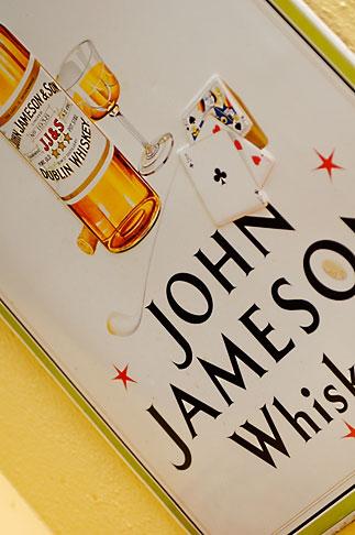 image 4-900-1623 Ireland, Dublin, John Jameson whiskey sign