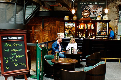image 4-900-1729 Ireland, Dublin, Old Jameson Distillery