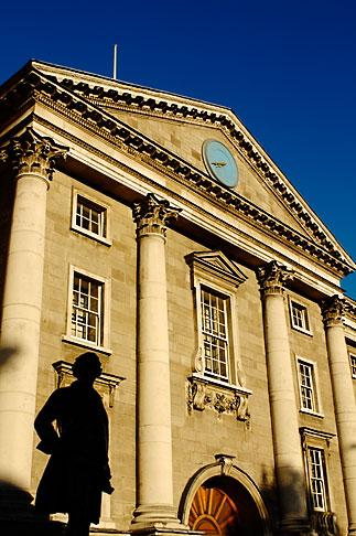 image 4-900-1964 Ireland, Dublin, Trinity College entrance