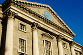 facade stock photography | Ireland, Dublin, Trinity College entrance, image id 4-900-1965
