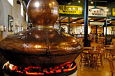 museum stock photography | Ireland, County Antrim, Bushmills Distillery,Tasting room, image id 4-900-409