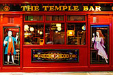 red stock photography | Ireland, Dublin, Temple Bar Pub, image id 4-900-41