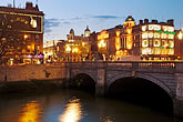 image 4-900-43 Ireland, Dublin, OConnell Bridge over River Liffey