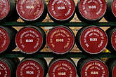 warehouse stock photography | Ireland, County Antrim, Bushmills Distillery, barrels, image id 4-900-475