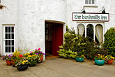courtyard stock photography | Ireland, County Antrim, Bushmills Inn, image id 4-900-552