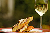 white wine stock photography | Food, Charred breast of chicken, image id 4-900-573
