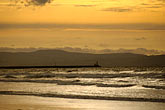 golden light stock photography | Ireland, County Antrim, Portstewart Strand, image id 4-900-595