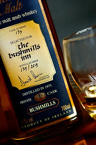 image 4-900-635 Ireland, County Antrim, Bushmills Whiskey