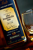 label stock photography | Ireland, County Antrim, Bushmills Whiskey, image id 4-900-635