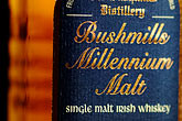 label stock photography | Ireland, County Antrim, Bushmills Whiskey, image id 4-900-639