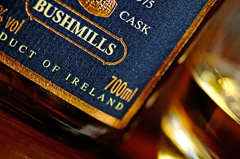 image 4-900-644 Ireland, County Antrim, Bushmills Whiskey