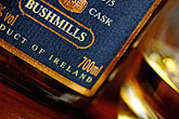 label stock photography | Ireland, County Antrim, Bushmills Whiskey, image id 4-900-644
