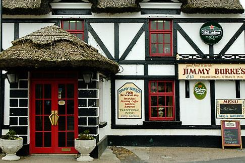 image 4-900-890 Ireland, County Galway, Ardrahan, Jimmy Burkes pub