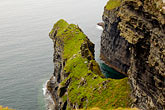 green stock photography | Ireland, County Clare, Cliffs of Moher, image id 4-900-989