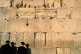 middle eastern stock photography | Israel, Jerusalem, Men praying, Western Wall, image id 9-340-88