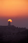 pink stock photography | Israel, Jerusalem, Sunrise over Mount of Olives, image id 9-340-94