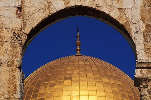 image 9-340-95 Israel, Jerusalem, Dome of the Rock