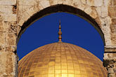 gilt stock photography | Israel, Jerusalem, Dome of the Rock, image id 9-340-95