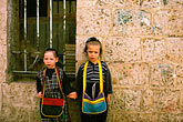 zwei stock photography | Israel, Jerusalem, Children of Mea Sha