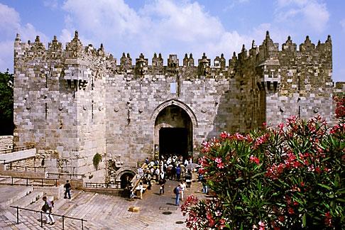 image 9-350-72 Israel, Jerusalem, Damascus Gate