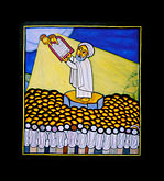 icon by livanus setatou stock photography | Israel, Jerusalem, Icon of Moses by Livanus Setatou, image id 9-360-18