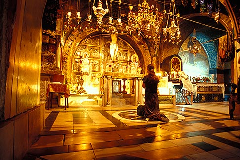 image 9-362-14 Israel, Jerusalem, Chapel of Calvary, Church of Holy Sepulchre
