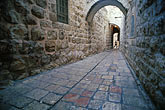 horizontal stock photography | Israel, Jerusalem, Alleyway, Old City, image id 9-362-23