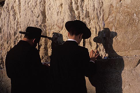 image 9-362-61 Israel, Jerusalem, Prayers, Western Wall