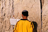 man stock photography | Israel, Jerusalem, Prayers, Western Wall, image id 9-362-65