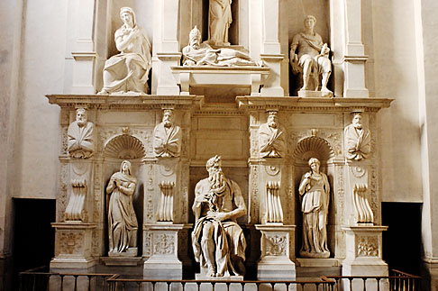 image S4-500-3491 Italy, Rome, Moses by Michelangelo, San Pietro in Vincoli