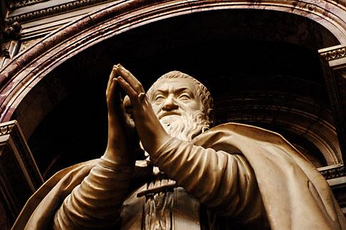 image S4-500-3570 Italy, Rome, Statue, Basilica di Santa Maria Maggiore