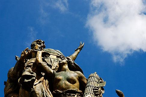 image S4-500-3647 Italy, Rome, Detail, Vittoria Emanuele II Monument, or Vittoriano