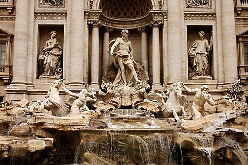 image S4-501-4156 Italy, Rome, Trevi Fountain