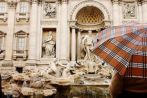 image S4-501-4198 Italy, Rome, Trevi Fountain