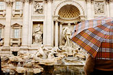 umbrella stock photography | Italy, Rome, Trevi Fountain, image id S4-501-4198