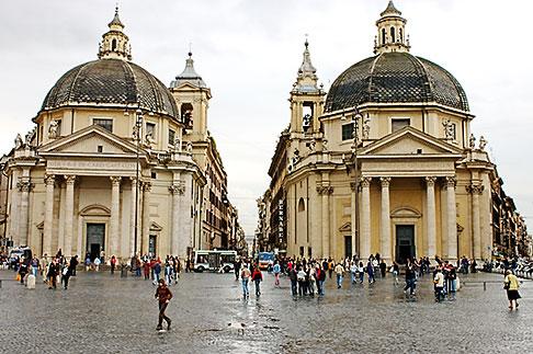 image S4-501-4651 Italy, Rome, Piazza Del Popolo