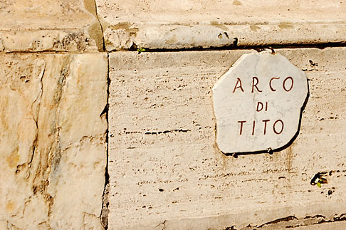 image S4-502-4790 Italy, Rome, Forum, Arch of Titus