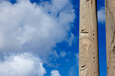 blue sky stock photography | Italy, Rome, Column, Forum, image id S4-502-4849