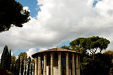 round stock photography | Italy, Rome, Temple of Vesta, image id S4-502-4979