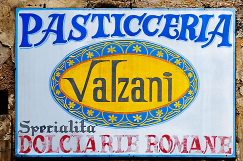 image S4-502-5181 Italy, Rome, Sign
