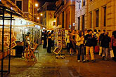 night life stock photography | Italy, Rome, Street scene, image id S4-502-5385