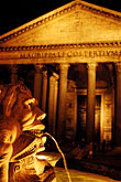 fountain stock photography | Italy, Rome, Pantheon, image id S4-502-5429