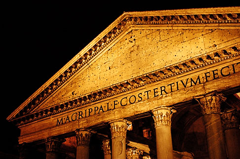 image S4-502-5445 Italy, Rome, Pantheon