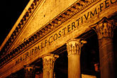 dark stock photography | Italy, Rome, Pantheon, image id S4-502-5450