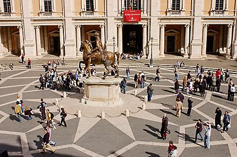 image S4-503-5478 Italy, Rome, Piazza del Campidoglio