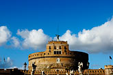 lookout stock photography | Italy, Rome, Castel Sant