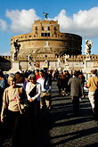 crossing stock photography | Italy, Rome, Castel Sant