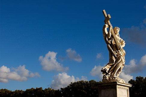image S4-503-5624 Italy, Rome, Ponte SantAngelo