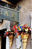 sign stock photography | Italy, Rome, Bar, Castel Sant