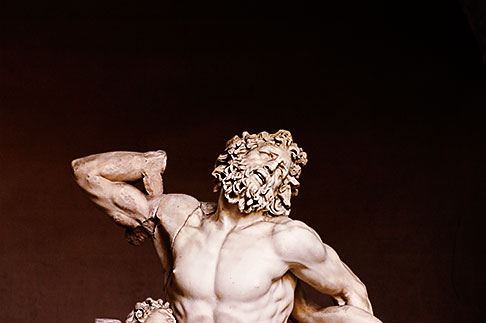 image S4-504-5856 Vatican City, The Laocoon, Museo Pio Clementino
